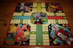 Vintage circus game board. $9.50, via Etsy.