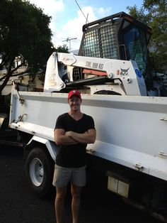 Team Aamion Bobcat Newcastle NSW after a property clean out