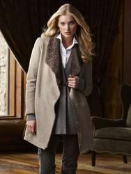 Elsa Hosk great coat
