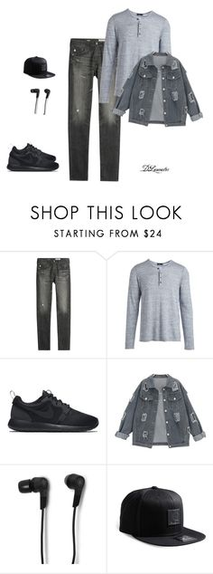 """Hanging out with my Bros today!!"" by diane-711 ❤ liked on Polyvore featuring AG Adriano Goldschmied, Vince, NIKE, Bang & Olufsen, Carhartt, men's fashion and menswear"