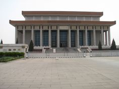 The Chairman Mao Memorial Hall (Chinese: 毛主席纪念堂) or Mao Mausoleum, final resting place of Mao Zedong, located in the middle of Tiananmen Square, in Beijing, China