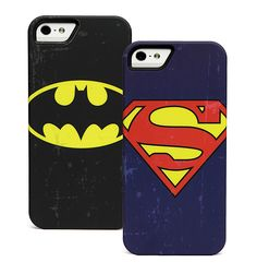 DC Comics Distressed Emblem iPhone 5 Cases