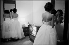 African American debutantes at the Conrad Hilton hotel in Chicago, 1964