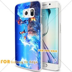 New OnePiece Anime Cartoon Manga Cell Phone10 S6 Edge Case, For-You-Case Samsung S6 Edge White Silicone Case Cover NEW fashionable Unique Design