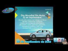.Hoy 22 de Septiembre se celebra El Día Mundial Sin Auto.