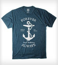 Forever Always T-Shirt | Men's Clothing | Arquebus Clothing | Scoutmob Shoppe | Product Detail
