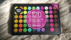 My Sugar Nails: #REVIEW - 120 Eyeshadow Colors 2ND Edition by BH Cosmetics