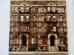 Led Zeppelin - Physical Graffiti w/Poster - English Hard Rock - Swan Song Records 1975 - Die-Cut Cover - Vintage Vinyl 2LP Record Album by notesfromtheattic on Etsy