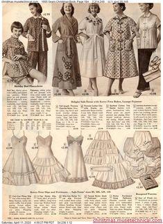 1955 Sears Christmas Book, Page 184 - Christmas Catalogs & Holiday Wishbooks Christmas Catalogs, Christmas Books, Big Skirts, Vintage Lingerie, Vintage Ads, Teen Fashion, Vintage Fashion, Petticoats, Holiday