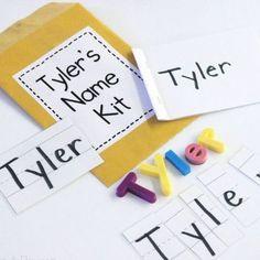 Name Activities Preschool, Kindergarten Names, Preschool Literacy, Early Literacy, Preschool Activities, Alphabet Activities, Literacy Centers, Alphabet Books, 3 Year Old Activities