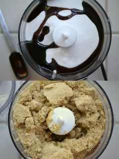 Just put a cup of sugar and 2 tablespoons of molasses together and mix well.