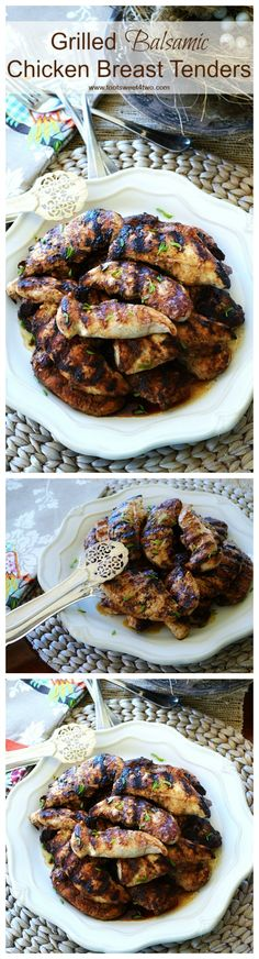 Grilled Balsamic Chi