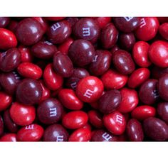 Cherry M's Candy for wedding favors