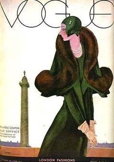 1st Ed 'Art of Vogue Covers' 1909-1940 w/ DJ 'Fashion - Rare 1st Printing Vogue Magazine from Tapestry Collectibles, Books, Jewelry RL shop