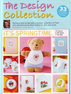 Springtime Design Collection The World of Cross Stitching Issue 95 March 2005 Saved