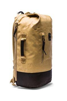 Nixon Origami Backpack in Khaki & Black   REVOLVE