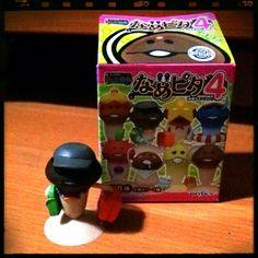 """Traveller"" Mushroom Figurine from Nameko Saibai. Goes overseas often but it's private, so no photos, please!"