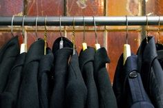 No Closet? No Problem:  Five Wall Mounted Garment Racks