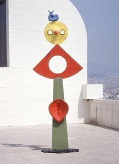 escultura de joan, La dona al vent