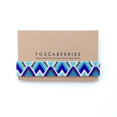 turquoise blue   royal blue   capri   white   gun metal in wave pattern . . . . . #beadworks#beadweave#kalungetnik#handmadebracelet#localbrandindonesia##localbrandif#handmadeindonesia#handwoven#accessoriesindo#gelangetnik#madeinindonesia#armcandy#jualgelang#tenun#etnik#weaving#gelang#toscaberries#toscaproject