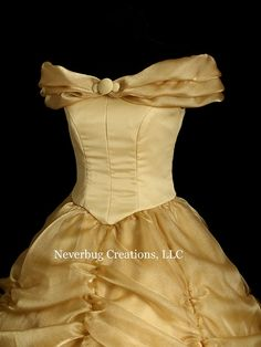 Adult  Beauty and the Beast Classic Gold Costume
