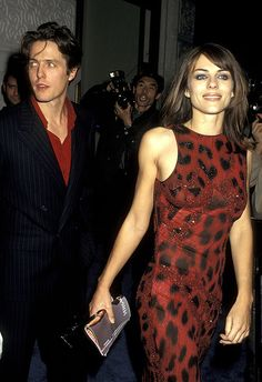 Elizabeth Hurley and Hugh Grant on the red carpet in 1996 Young Celebrities, Celebs, Asos Fashion, Elisabeth, Girl Crushes, Celebrity Style, Celebrity News, Dress To Impress, Fashion Beauty