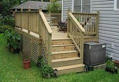 Small Deck Ideas Photos | Deck Lattice Ideas | eHow.com