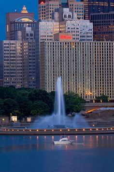 Pittsburgh, Pennsylvania - Fountain at the Point