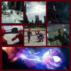 6 Brand NEW !!! Promo pics from The Amazing Spider-Man 2.