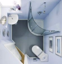 115 Extraordinary Small Bathroom Designs For Small Space 089