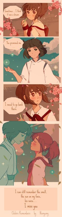 Chihiro Remembers by NUMYUMY.deviantart.com on @DeviantArt
