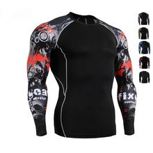 Muscle Men 3D Prints Compression Crossfit T-shirt Long Sleeves Thermal Under Top Rashguard Fitness Base Layer Weight Lifting //Price: $US $19.35 & FREE Shipping //     #tshirtdesign
