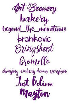 Aesthetic Fonts, Font Packs, Picsart Edits, Just Believe, Photoshop, Pasta, Lettering, Random, Xmas Pics