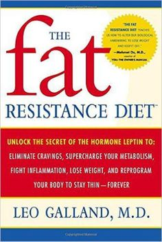 Free download The fat resistance diet pdf book authorized by leading expert in the field of nutritional medicine Leo Galland.