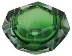 Green  Faceted Bowl | Cheers! | One Kings Lane