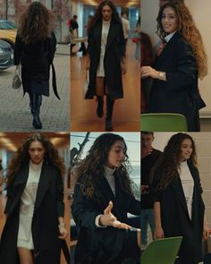 Tv Show Outfits, Chic Outfits, Fashion Outfits, Fashion Tv, Winter Fashion, Jennifer Rose, Fashion Drawing Dresses, Turkish Fashion, Victoria Secret Fashion