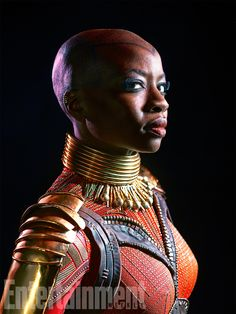 An amazing series of character portraits for Black Panther have been released giving us a closer look at the main heroes and villains but it's T'Challa's mother and sister who may be the most intriguing.