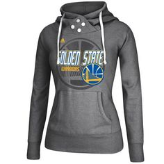 adidas+Golden+State+Warriors+Women's+Gray+Distressed+Back+Logo+Hoodie                                                                                                                                                                                 More