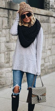 cozy knits all day long