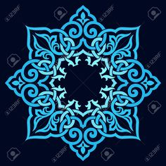 Traditional Persian-Arabic-Turkish-Islamic Pattern Royalty Free Cliparts, Vectors, And Stock Illustration. Image 19328892.