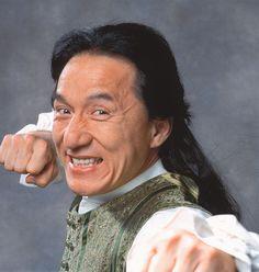 Jackie Chan: um de meu ator de ação preferido.