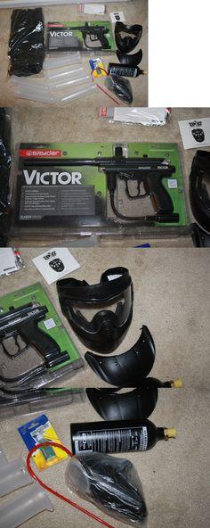 Marker Packages 47248: Spyder Victor Black Paintball Gun Marker W Tank, Loader, Harness, Tubes, Mask -> BUY IT NOW ONLY: $99.99 on eBay!