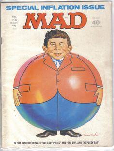Mad Magazine No.145 September 1971