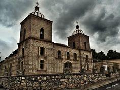 Iglesia San Antonio de Padua, located on San Antonio de las Alazanas, Arteaga, Coahuila, México
