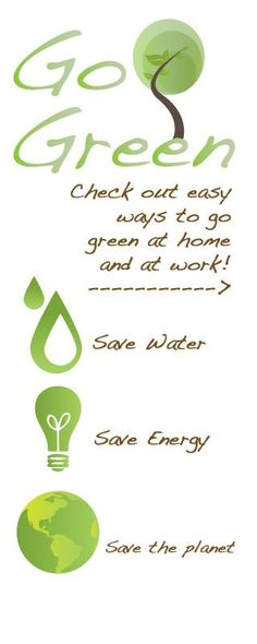 I pretty much do all of these. So should everyone else!!! HELP SAVE our planet!!! Green Eco-Friendly Lifestlye