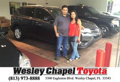 https://flic.kr/p/KEFFY3 | Happy Anniversary to Miguel on your #Toyota #RAV4 from Yuri Acosta at Wesley Chapel Toyota! |…