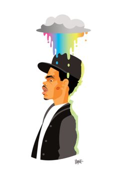 Chance the rapper coloring book background