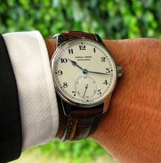 Pascal Coyon Chronometre with marine hands | Dress Watches | Time and Watches