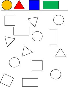 Coloring Pages Preschool Worksheets Carnival 2019 - Tipss und Vorlagen Preschool Learning Activities, Free Preschool, Preschool Printables, Kindergarten Worksheets, Kids Learning, Shapes Worksheets, Numbers Preschool, Math For Kids, Kids Education