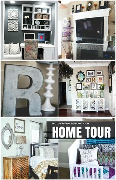 I LOVE the eclectic chic style!! Can you spot the Pier 1 pieces she has used beautifully??